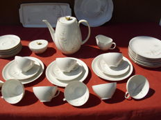 "Eschenbach - Vintage Tea Set ""Annette"" 36 Pieces"