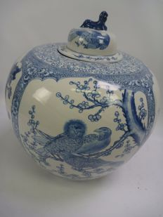 Porcelain vase - China - second half of the 20th century