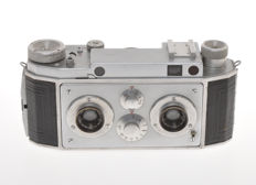 Jules Richard Paris Verascope 40 rare 35mm stereo camera, earlier model
