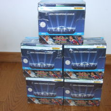Panini Champions League 2014/2015 - 5 original and new boxes