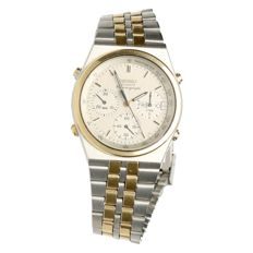 Seiko Chronograph - men's wristwatch - 1980s
