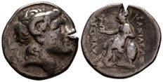 Greek Antiquity - Kings of Thrace. Lysimachos (305-281 BC). AR Tetradrachm (31 mm, 16.76 g),