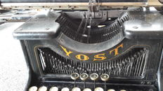 Yost No 20 typewriter with special typing mechanism