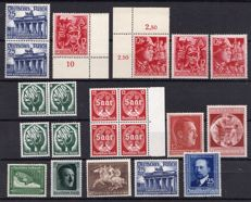 German Reich 1930/1940s - small collection