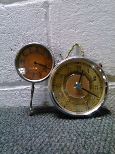 Citroën Traction 'France' old car clocks ' ,set of two