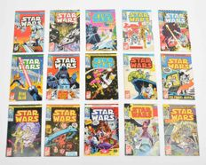 Complete Set Of Juniorpress Strip - Star Wars - Issues 1-24 + Specials - X35 SC - (1977/1983)