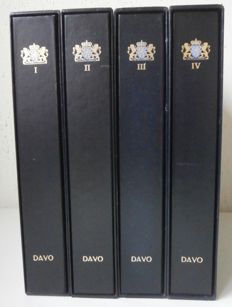 Accessories - The Netherlands - 4 Davo LX albums with case