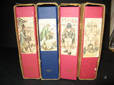 Anton Pieck collection - collected in 4 stock albums
