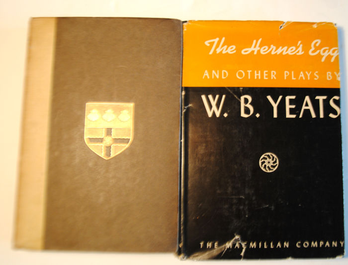 William butler Yeats  - Poems Second Series & The Herons Egg and Other Plays - 2 volumes - 1909 / 1938