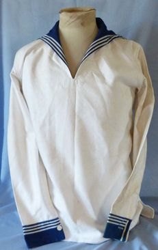 Original German WW2 Kriegsmarine Navy Seaman's Blouse Shirt
