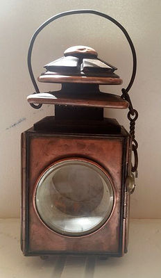 Old Paris public lantern 19th century France