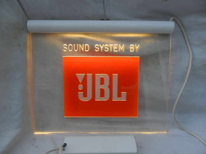 JBL illuminated advertising - 1970s - fine condition