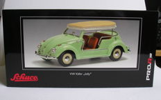 Schuco - Scale 1/18 - VW Beetle Jolly with detachable roof