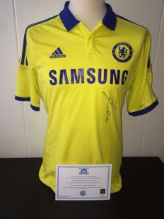 Michael Ballack / Chelsea - Official Signed shirt with COA and Photoproof.