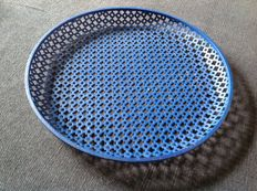 (Attributed to) Mathieu Mategot – perforated round tray