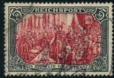 German Empire/Reich - 1900 - Reichspost 5 Mark, Michel no. 66 III
