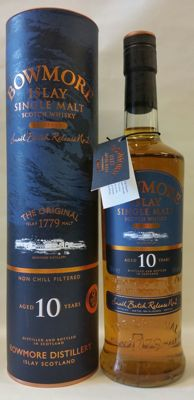 "Bowmore 10 years old ""Tempest"" small batch release No.2 # Cask Strenght  # Bottled in 2010"