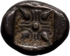 Greek Antiquity -  Ionia, Miletos AR Obol, c. 525-475 BC