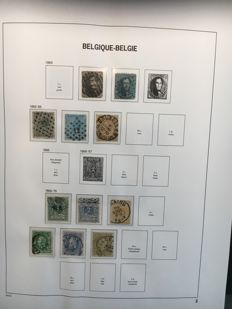Belgium  1863/1964 - Collection in Album, stockbook and on pages