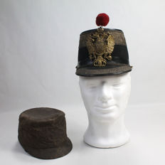Austro-Hungarian KEPI for infantry officer until 1850