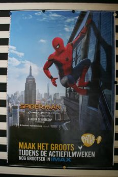 Spiderman  Homecoming - Abri poster - 175 x 120 cm