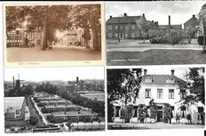 The Netherlands, 280 postcards, small format, both black/white and colour