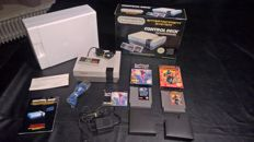 Nintendo Nes complete and boxed with 2 boxed games , isolated warrior and shadow warriors (ninja gaiden)
