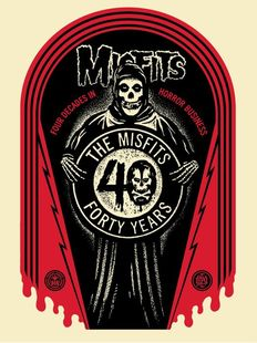 Shepard Fairey (Obey) - Misfits 40th Grave
