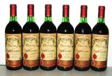 1979 Château la Chapelle Lescours, Grand Cru de Saint-Emilion - lot 6 bottles