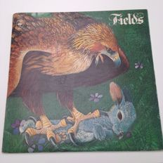 Lot of 2 rare  rock albums: Fields - Fields / Audience - Lunch