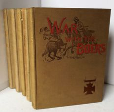 Harold Brown - War with the Boers - 5 volumes - 1902