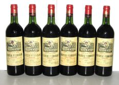 1976 Château Ferrande, Graves - lot 6 bottles
