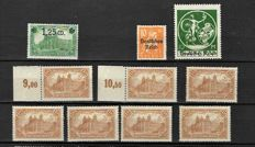 German Empire 1920/1945 - Selection between Michel 114/908