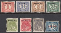 Netherlands 1913 – Armenwet (Law for the Poor) – NVPH D1/D8, with certificate