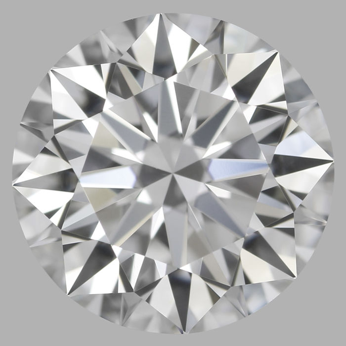 Round Brilliant Diamond 0.55 Carat , D IF, 3EX  Cert: GIA  #TW2008 -original image