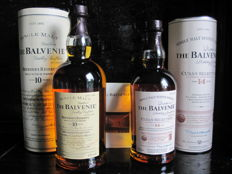 "2 bottles - The Balvenie - 10y old ""Founders Reserve""  and 14y old ""Cuban Selection"""