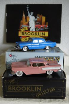 Brooklin Models - Scale 1/43 - Dodge Coronet 1955, Edsel Citation 1958 & Brochure of 1988