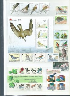 Birds - Topical collection, series and blocks