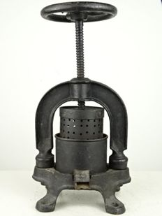 Cast iron pate press - France - first half of 20th century