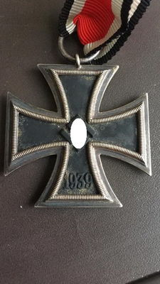 Iron Cross, 2nd class, 1939, with a ribbon