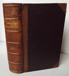 The Arminian Magazine, for the year 1792. Consisting chiefly of Extracts and  Original Treatises on Universal Redemption - 12 monthly issues in 1 volume - 1792