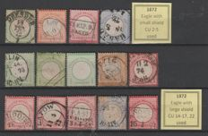 Germany Reich 1872/1945 - Fine collection of 1.540 stamps