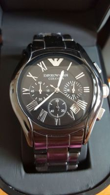 Emporio Armani AR1410 Ceramic Men's Chronograph Watch