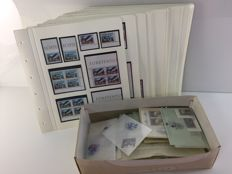 Liechtenstein 1965–1987 — Collection in preprinted album and glassine