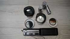 Photographic accessories (filters, Kodak tele extra camera, containers for films, etc.)