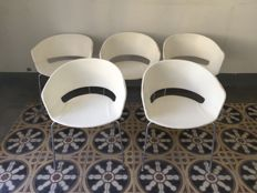 Andreu World - 5 Dining Chairs