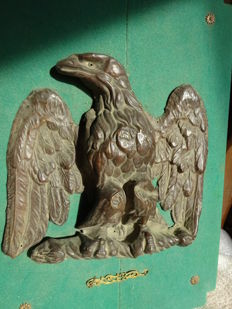 Decorating Eagle - stamped brass -  NAPOLEON III period