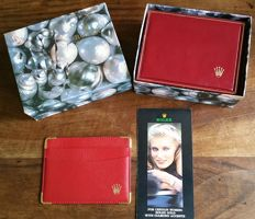 Rolex, Original Rolex inside&outside box, business cardholder and a booklet (1)