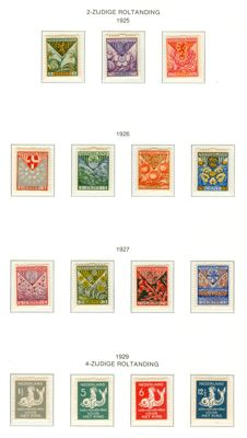 Netherlands 1925/1929 - Children's stamps, syncopation - NVPH R71 through R85
