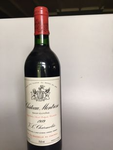 1989 Chateau Montrose St. Estephe 2e grand cru Classé - 1 bottle (75cl)